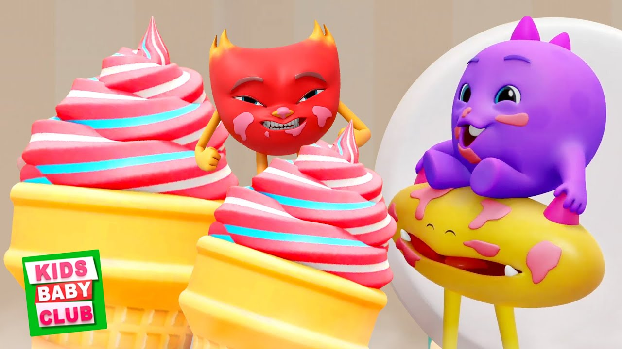 Ice Cream Meltdown | Kids Comedy Shows | Funny Videos for Babies | Animated Cartoon