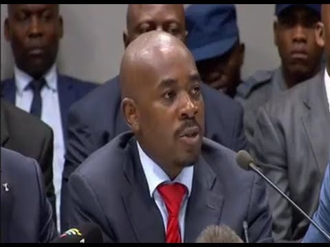 Nelson Chamisa Testimony at Post Election Violence Inquiry Motlanthe Commission (26 November 2018)