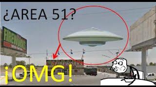 ¿Ovni en google maps AREA 51? enero 2016 Free HD Video