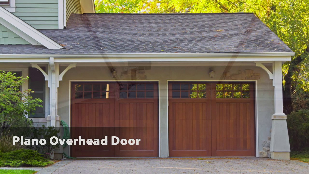 Plano Overhead Door   YouTube