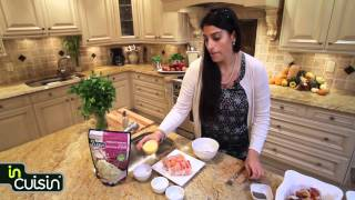 In Cuisin Recipe: Marinated Chicken And Beef Skewers