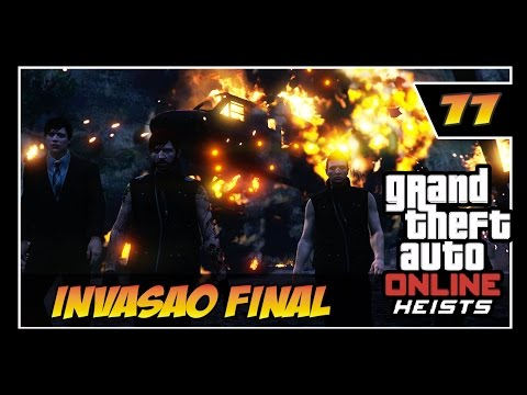 GTA V Online - HEISTS - #11 - INVASÃO DO LABORATÓRIO HUMANE - FINAL ÉPICO!!