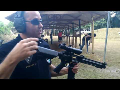 APS ASR 118 + Glock 19 We T3 GBB (Airsoft)