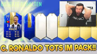 OMG!! C. RONALDO TOTS 99 IN WEEKEND LEAGUE REWARDS FUT CHAMPIONS PACKS BEST OF