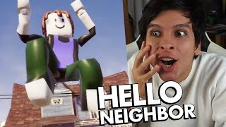 NEW ROBLOX GIANT VECINO AND EPIC GAME MODES - HELLO NEIGHBOR
