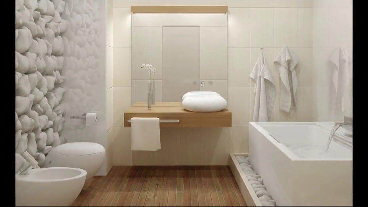 Дизайн белой ванной комнаты - YouTube