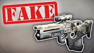 YOUTUBER *CAUGHT* FAKING HIS GAMEPLAYS!! (Destiny 2)