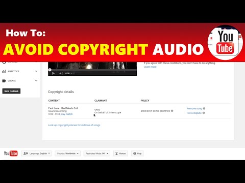 How To: Avoid Copyright Claims & Get Copyright Free Music