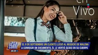 Así fue el ataque con ácido a la saxofonista, María Elena Ríos... | De Pisa y Corre