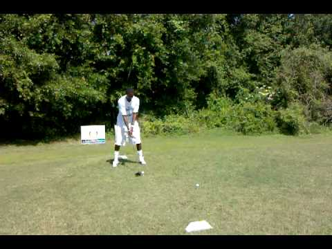 Jacory Harris:  Great quarterback, great guy, not so great golfer