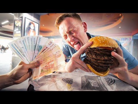 Giving $100 For EVERY Pound My Friend Gains - Challenge