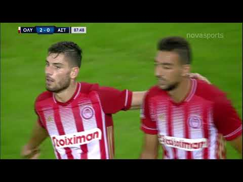 Olympiakos Asteras Tripolis Goals And Highlights