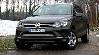 2015 VW Touareg 3.0 V6 TDI (262 HP) Test Drive