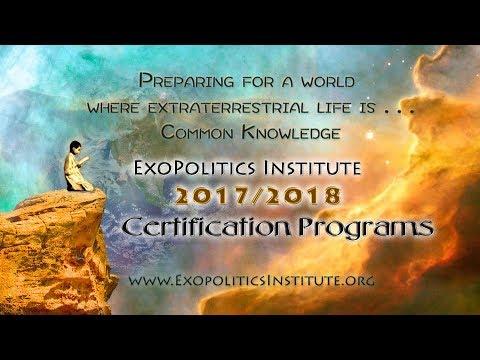 Exopolitics Institute 2017/2018 Certificate Program