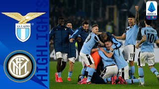 Lazio 2-1 Inter | Lazio up to Second After Dramatic Comeback Win! | Serie A TIM