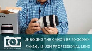 CANON EF 70-300 mm f/4.5 6L IS USM for 70D, 5Ds, 7D Mark II & Other Cameras   UNBOXING REVIEW