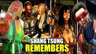 Shang Tsung Remembers Past Events With Kano, Scorpion, Sub-Zero & Others  ( MK9 - MK 11 )