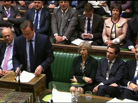 Cameron Makes Pro-EU Case in UK Parliament