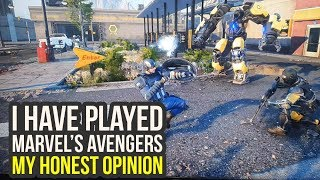 Marvel Avengers Gameplay Impressions After Playing & A Ton Of New Info (Avengers Project Gameplay)