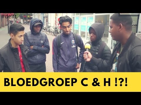 Bloedgroep C & H bestaan?!? | let's take it outside | Delft
