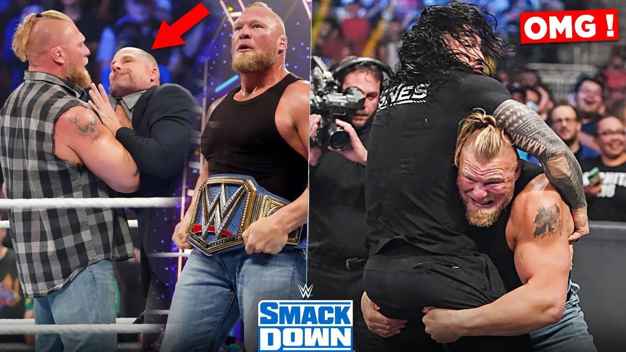 BROCK LESNAR DESTROYS ! 😍 EVERYONE on Smackdown, Brock Lesnar SUSPENDED - WWE Smackdown Highlights