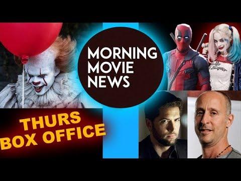 It 2017 Thursday Night Box Office, Drew Goddard XForce, Gavin O'Connor Suicide Squad 2