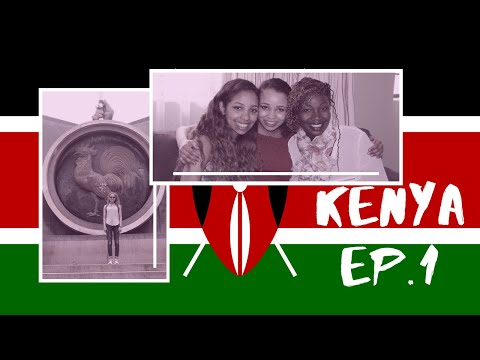 Travelling & Nairobi Centre #AwesomeKenyaVlogs - ep 1