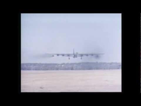 The 10 Engine Bomber - Convair B-36 Takeoff