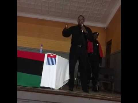 World Wide Pan-Afrikan Covention - Malik Shabbaz Speaks
