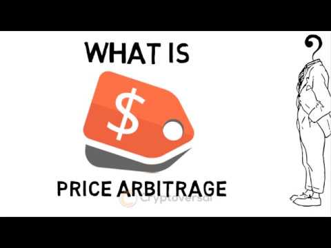 What is price arbitrage in cryptocurrencies?