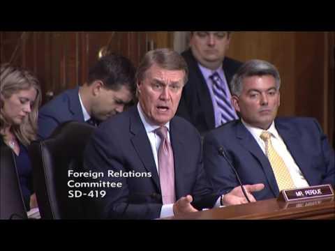 Senator David Perdue in SFRC