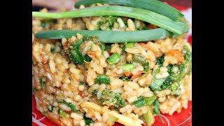 Рис с овощами на гарнир!  Ну, оОчень вкусно!