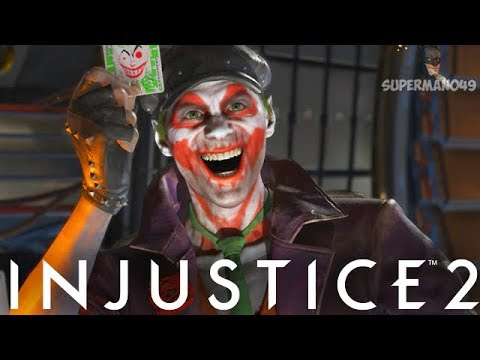 "NEW EPIC JOKER VS THE WORST CONNECTION SUPERMAN - Injustice 2 ""The Joker"" Epic Gear Gameplay"