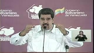 Maduro sobre diálogo con MUD: Estoy listo para firmar y cumplir el acuerdo