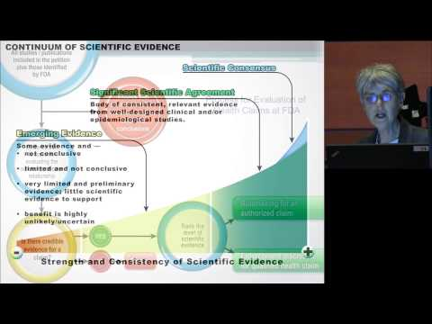ILSI NA -- Experimental Biology 2013 (Speaker: Barbara O. Schneeman)