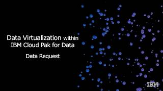 Video thumbnail for IBM Cloud Pak for Data: Data Request in Data Virtualization