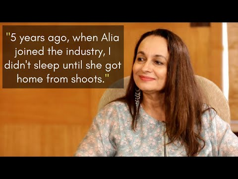 Soni Razdan speaks about daughter Alia & their first movie together Raazi to Editor Vickey Lalwani