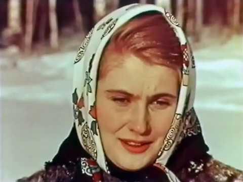 """ФИЛЬМ ДЕТЯМ """"Зимний дуб""""  1963 г."""