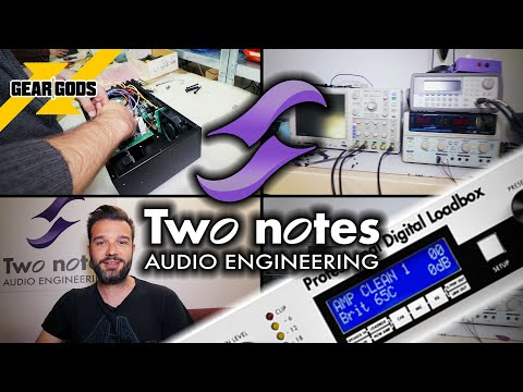 TWO NOTES AUDIO ENGINEERING Factory Tour | GEAR GODS