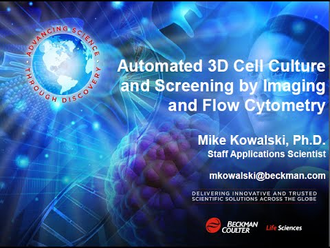 Automated 3D Cell Culture and Screening by Imaging and Flow Cytometry