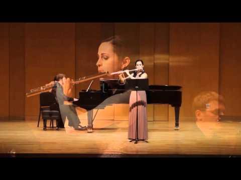 Liebermann Sonata, Op. 23- Movement 1 (Hannah Leffler, flute/Ben Allred, piano)