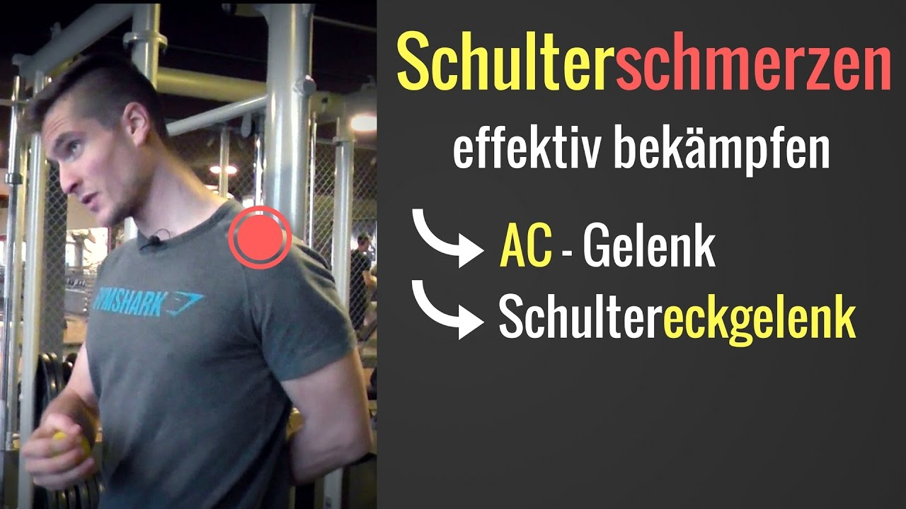 Schulterschmerzen im Schultereckgelenk / AC-Gelenk - Übungen & Tipps ...