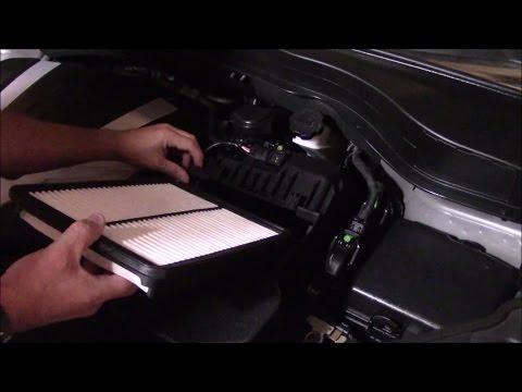 Kia Sorento Engine Air Filter Check/Replacement (SXL 3.3 Litre 6 Cylinder)