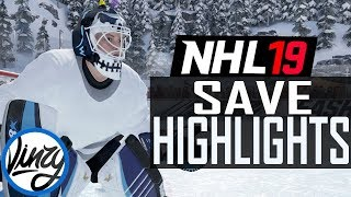 NHL 19 SAVE HIGHLIGHTS! #1