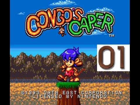 Congo's Caper (SNES) LP part 01
