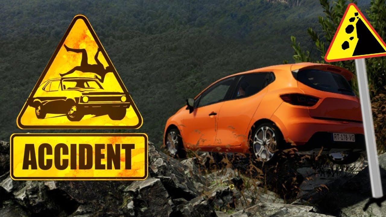 Wypadek na skraju urwiska - Accident #2