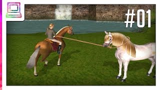 Barbie Horse Adventures - Wild Horse Rescue (part 1) (Horse Game)
