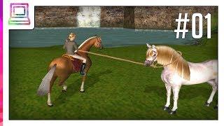 Barbie Horse Adventures - Wild Horse Rescue Part 1 Horse Game