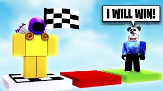 IF I WIN THIS OBBY, I GET HIS DOMINUS! | Roblox