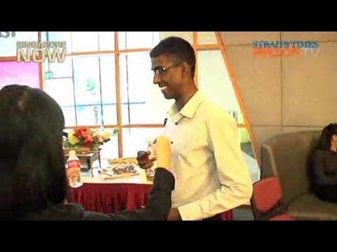 Security guard scores perfect GPA (Ngee Ann top graduates Pt 1)